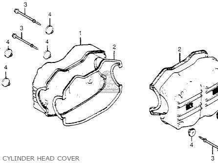 Honda Gl1100i Goldwing Interstate 1983 d Usa Cylinder Head Cover
