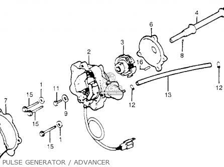 Honda Gl1100i Goldwing Interstate 1983 d Usa Pulse Generator   Advancer