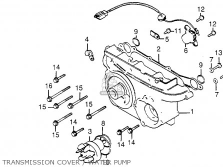 Motorcycle Cdi Wiring Diagram