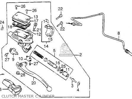 Goldwing Gl1200 Carburetor Diagram