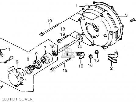 Honda Gl1200a Gold Wing Aspencade 1985 Usa Alternator Shaft