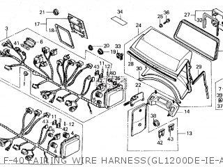 [SCHEMATICS_4NL]  Honda GL1200A GOLDWING ASPENCADE 1984 (E) parts lists and schematics | 1984 Honda Gl1200 Aspencade Wiring Diagram |  | Cmsnl.com