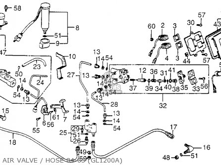 1984 Honda Goldwing Wiring Harness Diagram