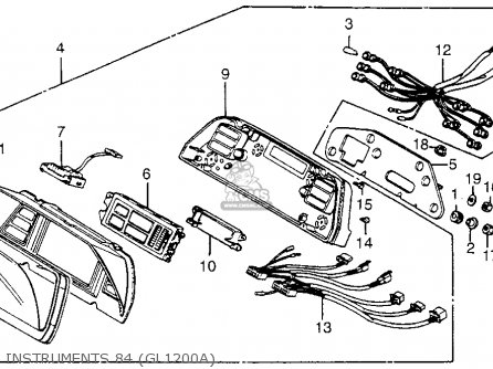 Honda Goldwing 1800 Wiring Diagram moreover 81 Gl1100 Wiring Diagram also Honda Goldwing Gl1100 Wiring Diagram And Electrical System Harness And Schematics likewise 1986 Gl1200 Wiring Diagram likewise 83 Kawasaki Gpz 1100 Wiring Diagram. on wiring a 1981 honda gl1100