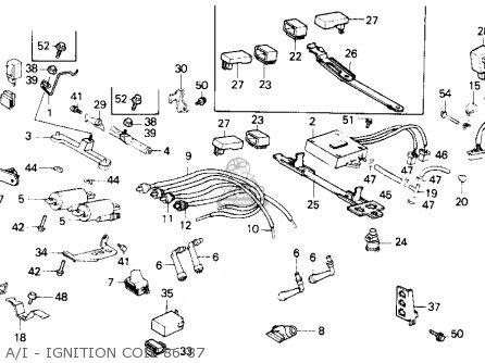 Honda Gl1200a Goldwing Aspencade 1986 g Usa A i - Ignition Coil 86-87