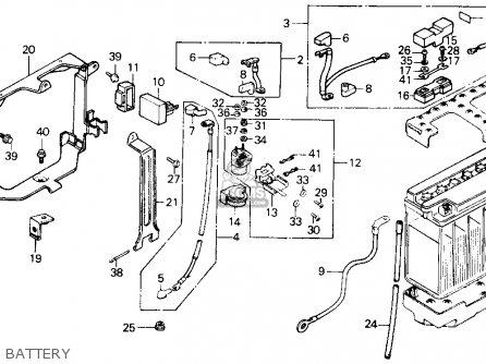 Honda Gl1200a Goldwing Aspencade 1986 g Usa Battery