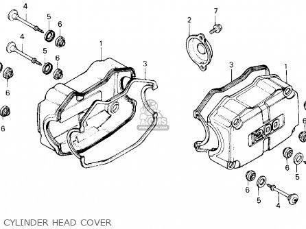 Honda Gl1200a Goldwing Aspencade 1986 g Usa Cylinder Head Cover