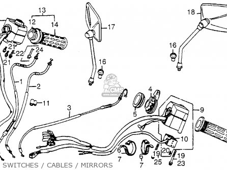 1975 honda goldwing wiring diagram