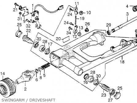 1985 Honda Goldwing Wiring Schematic