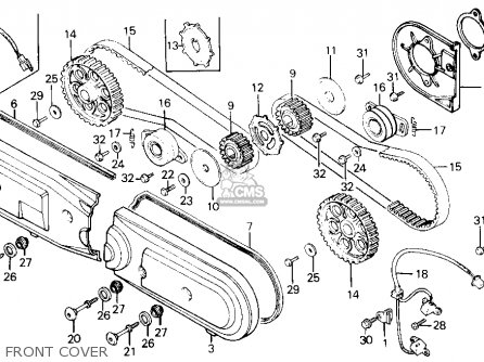 Honda 55 Engine Diagram