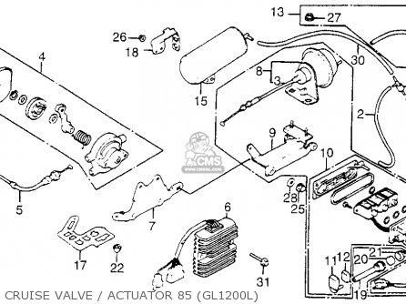 honda gl1200l goldwing ltd 1985 f usa california cruise valveactuator 85 gl1200l_mediumhu0202f9e48_f698 2007 honda shadow motorcycle parts schematic 2007 find image,06 Honda Shadow Aero 750 Wiring Diagram