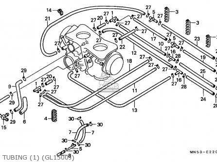Carburetor Parts For A 1988 Honda Goldwing 1500