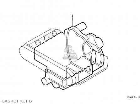 Honda Gl1500 Goldwing 1988 J France Kph Yb Parts Lists And