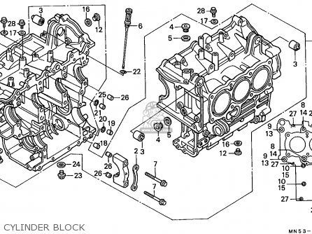 Honda Gl1500 Goldwing 1988 J Italy Kph Parts Lists And Schematics