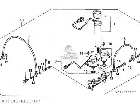 honda gl1500 goldwing 1989 belgium    kph parts list