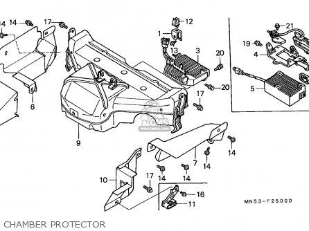 honda gl1500 goldwing 1989  k  germany    kph parts list