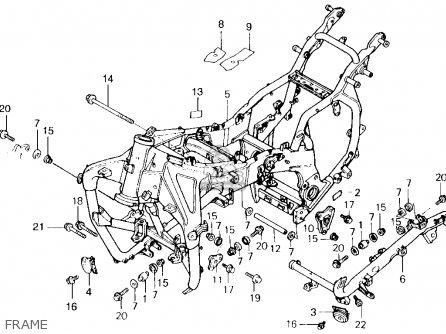 1989 Honda 1500 Goldwing Engine