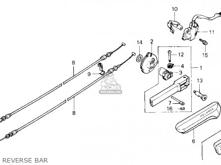 honda gl1500 goldwing 1989 k usa california parts lists and schematics rh cmsnl com