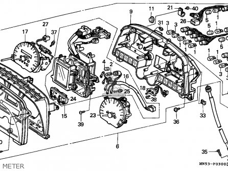 honda goldwing 1500 wiring diagrams honda goldwing powered