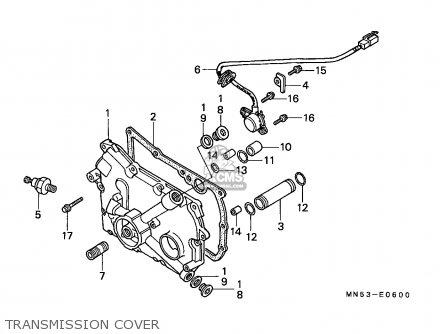 Honda GL1500 GOLDWING 1990 (L) GERMANY parts lists and schematics