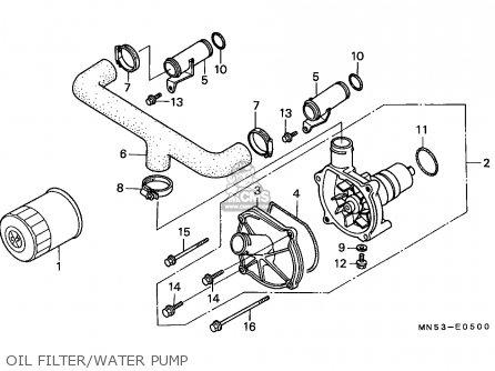 1992 Honda Accord Fuel Filter