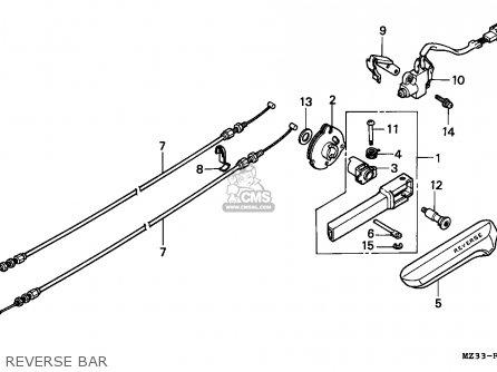 Honda gl1500a goldwing aspencade 1993 france kph parts list