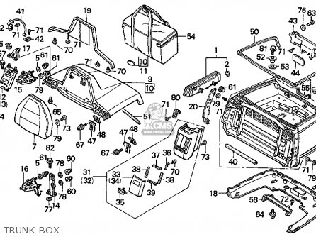 1995 honda goldwing wiring diagram honda gl1500a goldwing aspencade 1995 (s) california parts ... 1982 honda goldwing wiring diagram