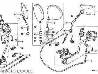 Honda GL1500C VALKYRIE 1997 (V) CANADA / RBM parts lists ...