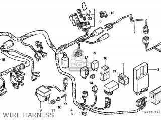 Honda GL1500C VALKYRIE 1997 (V) FRANCE parts lists and ...