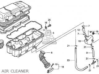 Honda Gl1500c Valkyrie 2000 y Usa California Air Cleaner