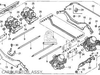 Honda Gl1500c Valkyrie 2000 y Usa California Carburetor Assy