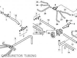 Honda Gl1500c Valkyrie 2000 y Usa California Carburetor Tubing