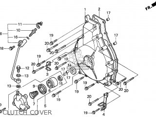 Honda Gl1500c Valkyrie 2000 y Usa California Clutch Cover