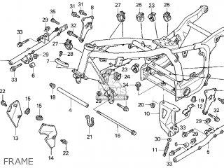 Honda Gl1500c Valkyrie 2000 y Usa California Frame