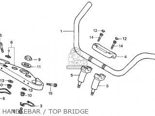 Honda Gl1500c Valkyrie 2000 y Usa California Handlebar   Top Bridge