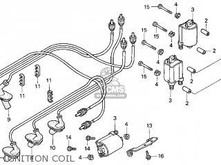 Honda Gl1500c Valkyrie 2000 y Usa California Ignition Coil