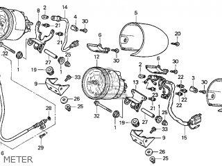 Honda Gl1500c Valkyrie 2000 y Usa California Meter