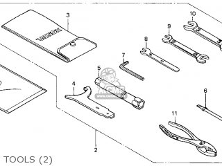 Honda Gl1500c Valkyrie 2000 y Usa California Tools 2