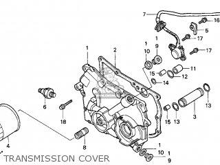 Honda Gl1500c Valkyrie 2000 y Usa California Transmission Cover