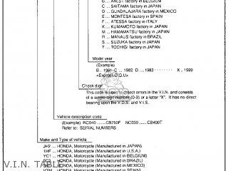 Honda Gl1500c Valkyrie 2000 y Usa California V i n  Table