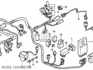 Honda Gl1500c Valkyrie 2000 y Usa California Wire Harness