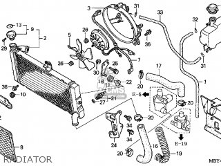 Honda Gl Cf Valkyrie Interstate X Usa California Radiator Mediumhu F A Ba on Clutch Master Cylinder Schematic
