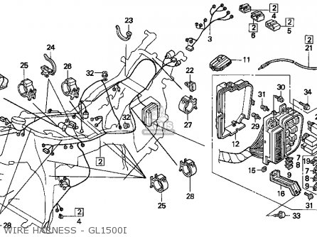 1981 Honda Goldwing Wiring Diagram