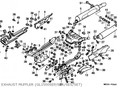 Honda Goldwing Clutch Master Cylinder Diagram on 1991 honda accord distributor diagram