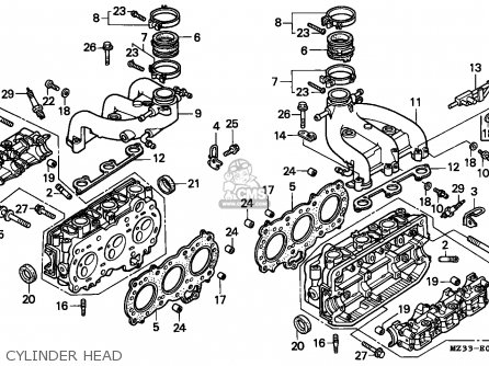 honda 1500 goldwing carburetor schematic