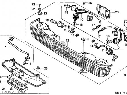 2001 Jetta Trunk Wiring Diagram