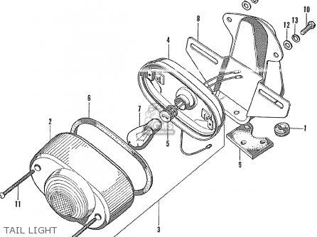 Honda Gl175 General Export Parts Lists And Schematics