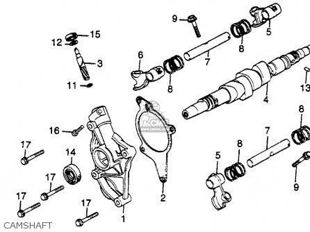 honda gl500 silverwing 1981  b  usa parts list partsmanual
