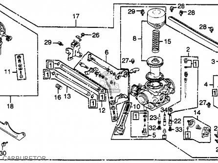Honda Gl500 Silverwing 1982 c Usa Carburetor