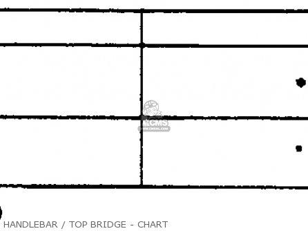 Honda Gl500i Silver Wing Interstate 1982 c Usa Handlebar   Top Bridge - Chart